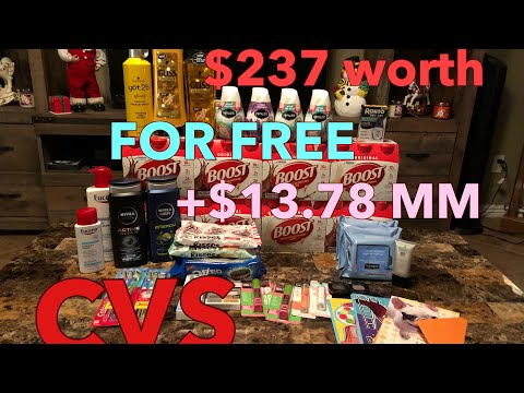 CVS Couponing haul 12/10-12/16/17! AMAZING DEALS! PRINTABLE BREAKDOWN INCLUDED!