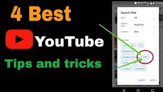 4 usefull YouTube tips and tricks | Tamil |
