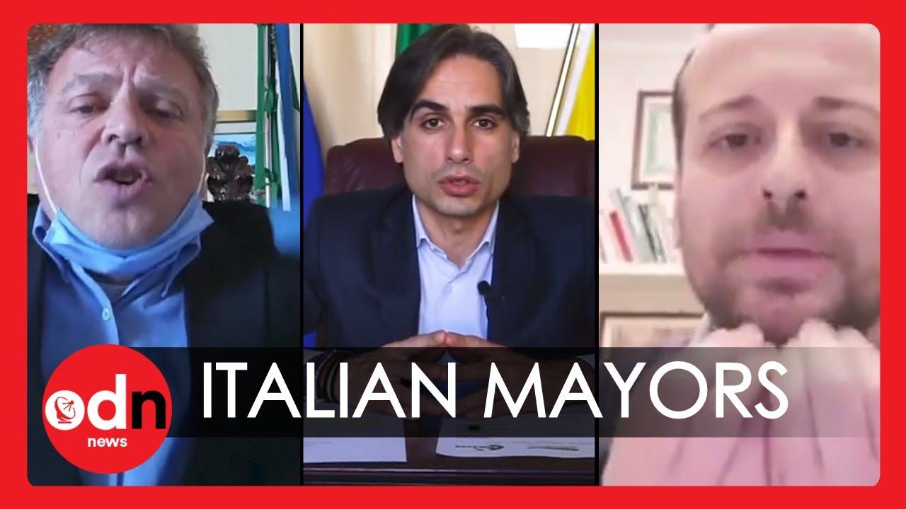 Italian Mayors Kick Off at Coronavirus Lockdown Dodgers