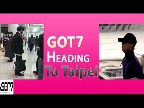 170105 - GOT7 Heading To Taipei