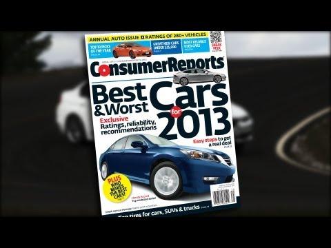 Consumer Reports 2013 Top Picks Cars Consumer Reports