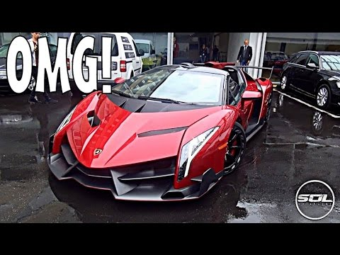 3 4 Million Lamborghini Veneno Roadster Spaceship Supercar Youtube