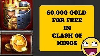 HOW TO GET 60K FREE GOLD!!! (CLASH OF KINGS KILL EVENT TIPS AND TRICKS)