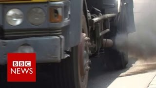 The dirty secret of 'African quality' fuel   BBC News