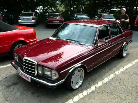 mercedes benz w123 v8 oldschool mercedes tuning. Black Bedroom Furniture Sets. Home Design Ideas