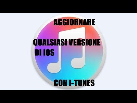 iOs Tutte le versioni - Come aggiornare con iTunes - (ITA)