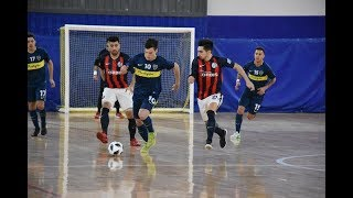 #FutsalAFA #PrimeraA -  Resumen Boca vs San Lorenzo -  Semifinal -  Ida -  Playoff -  2018