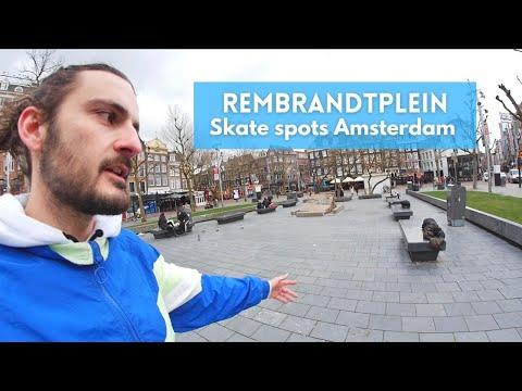 Rembrandtplein - Skate spots Amsterdam
