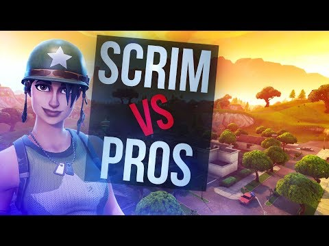 Competitive Fortnite? (SQUAD SCRIM WIN)