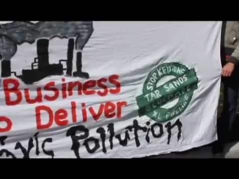 Tar Sands Blockade Corporate Action