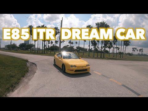My Dream car Test Drive Review E85 Integra Type R