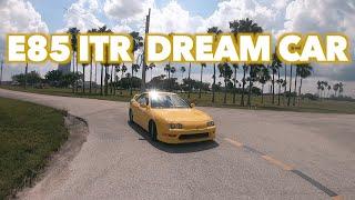 MY DREAM CAR TEST DRIVE!!!! E85 INTEGRA TYPE R