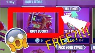 *FREE* RUST BUCKET BACKPACK!!! (Fortnite)