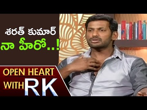 Actor Vishal Over Fight With His Mentor Sarath Kumar   Open Heart With RK   ABN Telugu