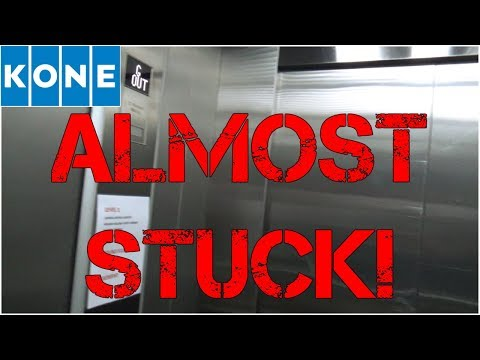 ELEVATOR MALFUNCTION! Almost STUCK In The KONE Service Elevator @ Chevron Renaissance, Gold Coast