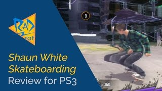 Shaun White Skateboarding Review for PS3