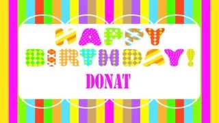 Donat   Wishes & Mensajes   Happy Birthday
