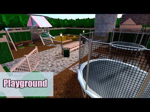 Massive Playground Roblox Bloxburg 284k Youtube