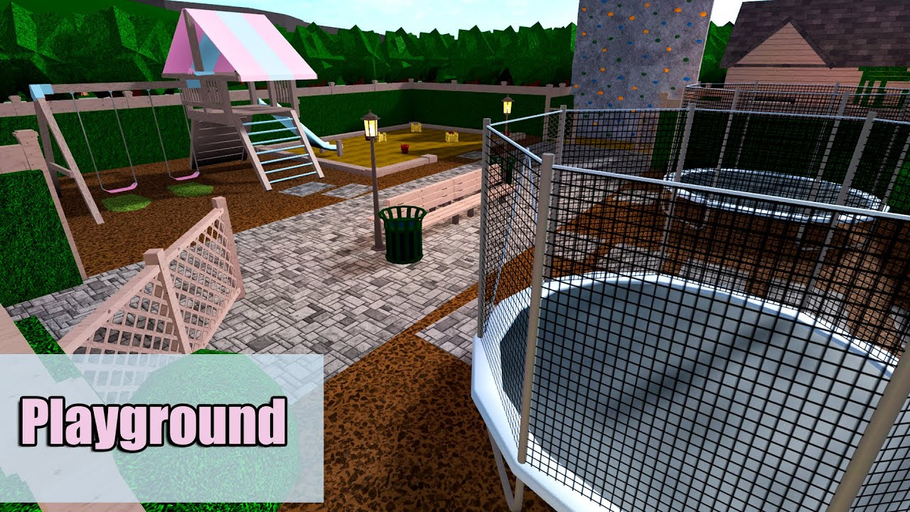 Massive Playground Roblox Bloxburg 284k Youtube