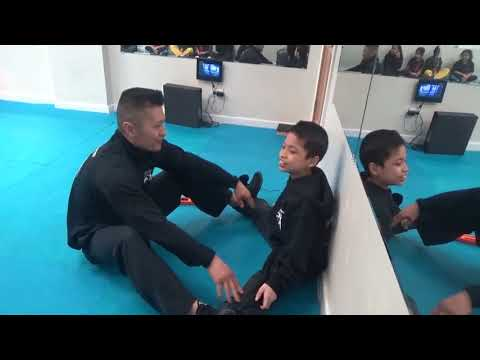 Kung Fu Kids - Middle Split Challenge
