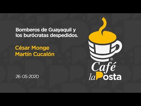 Café la Posta: Bomberos de Guayaquil y los burócratas despedidos