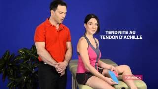 Kinésio taping, formedika tape pour tendinite du tendon d'achille