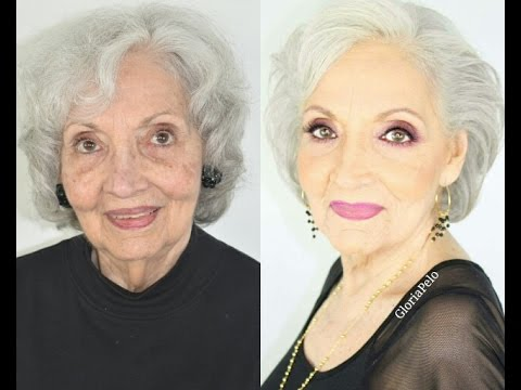 Maquillaje para Abuelas Piel Madura (Mujeres 80+)