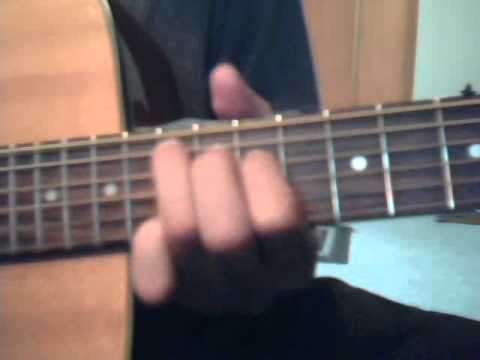 How To Play Sparks By Coldplay On The Guitar Youtube