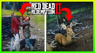 I Revived A Deer At The Pagan Ritual Site, INSANELY CREEPY! Red dead Redemption 2 Secrets