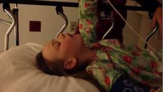 Funny Video of Daughter Coming Out of Anesthesia