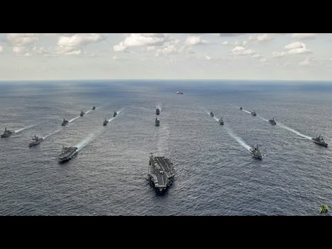 Japanese Destroyers Join US Armada Headed Toward North Korea