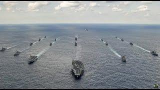 Japanese Destroyers Join US Armada Headed Toward North Korea