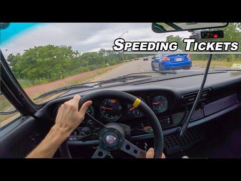 How to Avoid Speeding Tickets - 1988 Porsche 911 POV