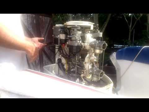 Chrysler outboard setting the ignition timing. Part 1
