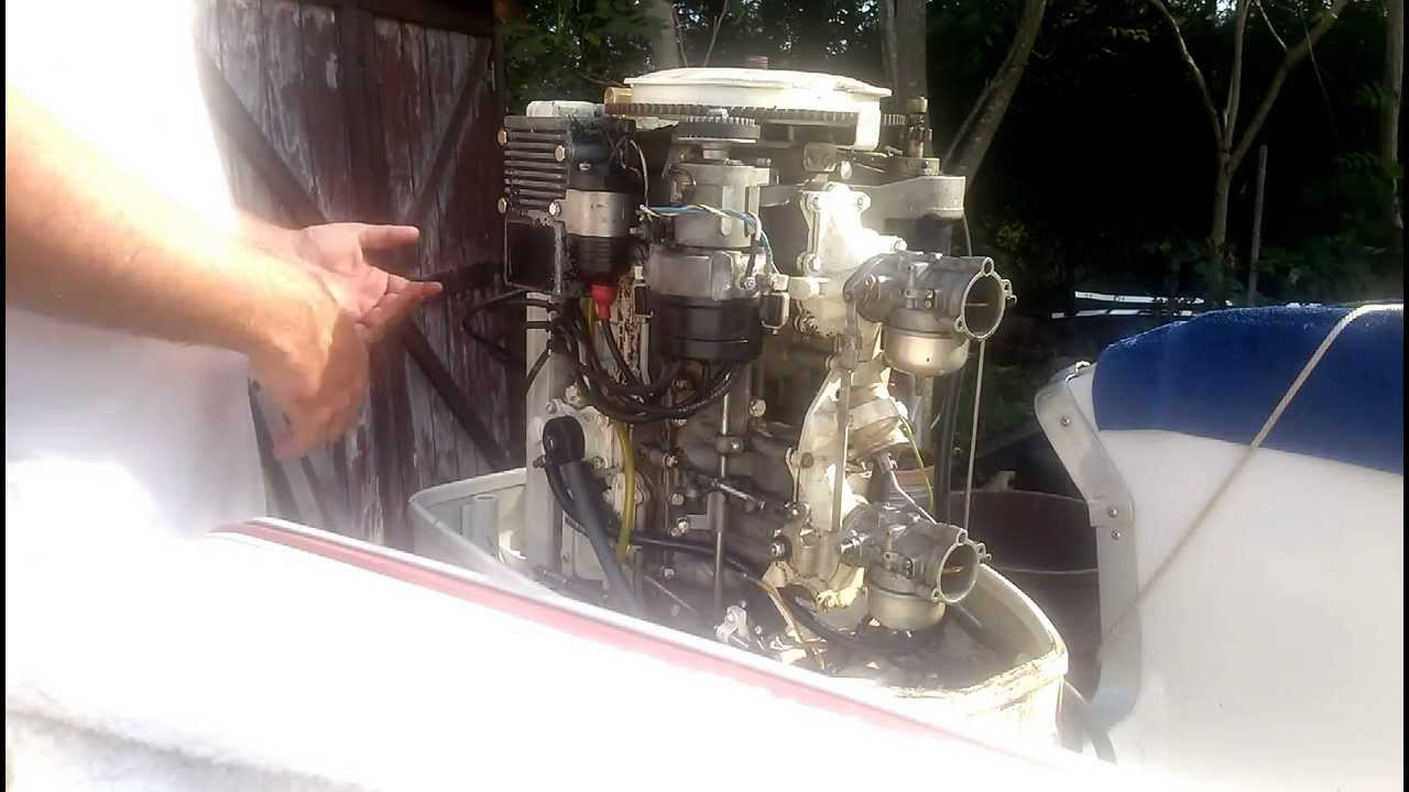 hight resolution of chrysler outboard setting the ignition timing part 1
