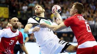 HANDBALL RUSSIA - GERMANY. IHF World Men's Championship 2019