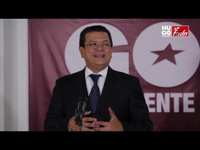 HUGO MARTÍNEZ PRESENTA PLAN ANTICORRUPCIÓN, FMLN