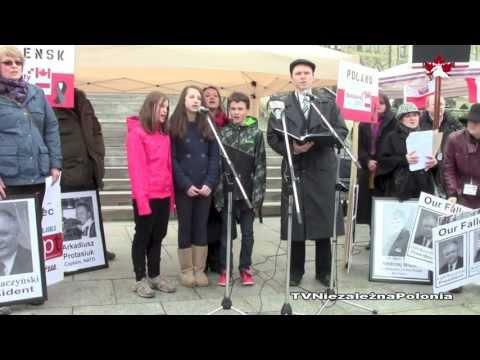 Ottawa - obchody rocznicy Katynia i Smoleńska