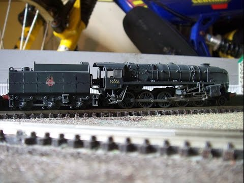 N Gauge Review No 3 Dapol BR Standard 9F class 2-10-0 Locomotives