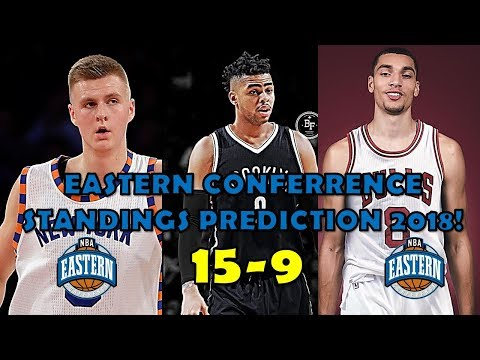 2018 Eastern Conference Standings Prediction (15-9)
