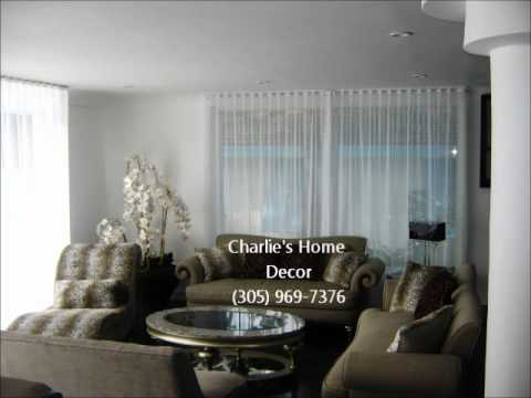 Ripplefold Drapes in Miami By Charlie's Home Decor (305)969-7376