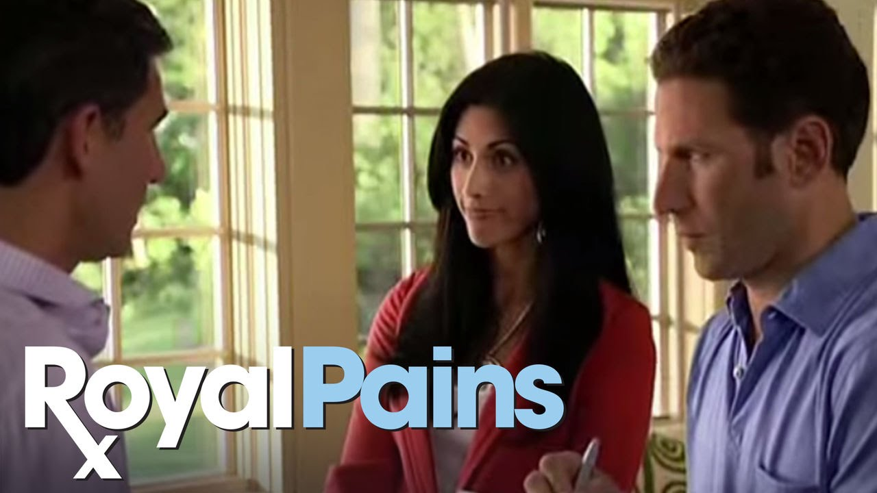 """Download Royal Pains - """"The Hankover"""" Scene 2 - USA"""