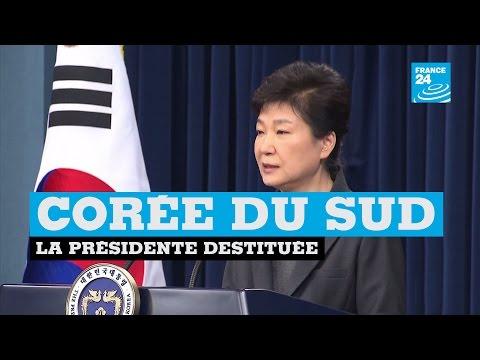 Corée du Sud : la présidente Park Geun-Hye destituée