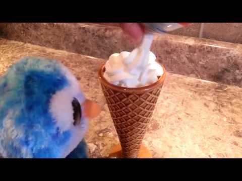 ICE CUBE MAKES ICE CREAM