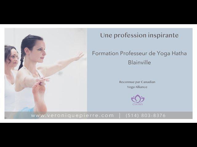 Vous rêvez de devenir professeur de yoga? - Consultation GRATUITE