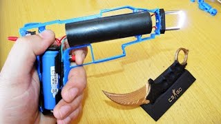 How To make A Stun Gun!  (1 million volts)
