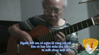 Guitar Solo - NỖI ĐAU MUỘN MÀNG (Ngô Thụy Miên) - Lê Vinh Quang