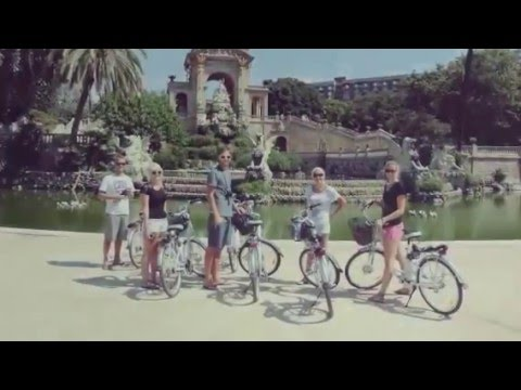 enjoy barcelona with an  electric bike