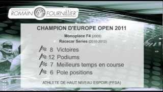 Romain FOURNILLIER - Champion d'Europe Racecar en titre