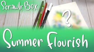 It's Leafy! | Mystery Art Box | ScrawlrBox June